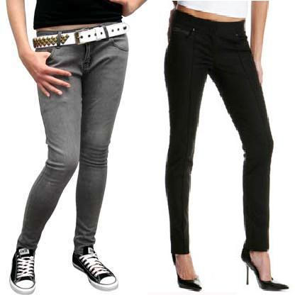 pitillo Los pantalones pitillo están de moda