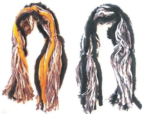 La moda de las bufandas