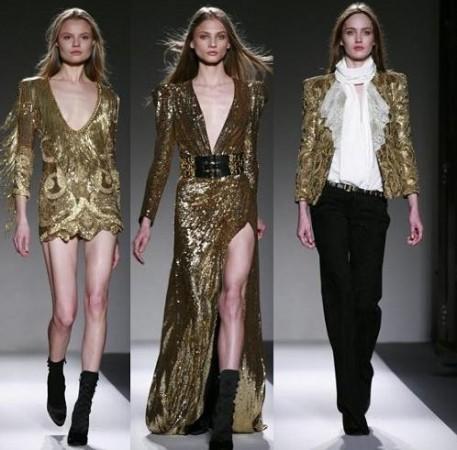 Hacia donde quieren ir los diseñadores de moda con un modelo de talla contrario a lo normal ...