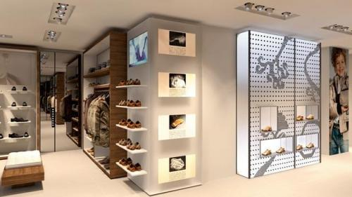 Nueva tienda geox en madrid for Muebles kiabi