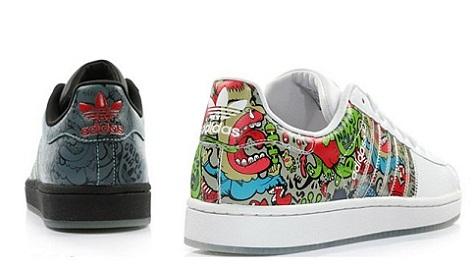 zapatillas adidas pintadas