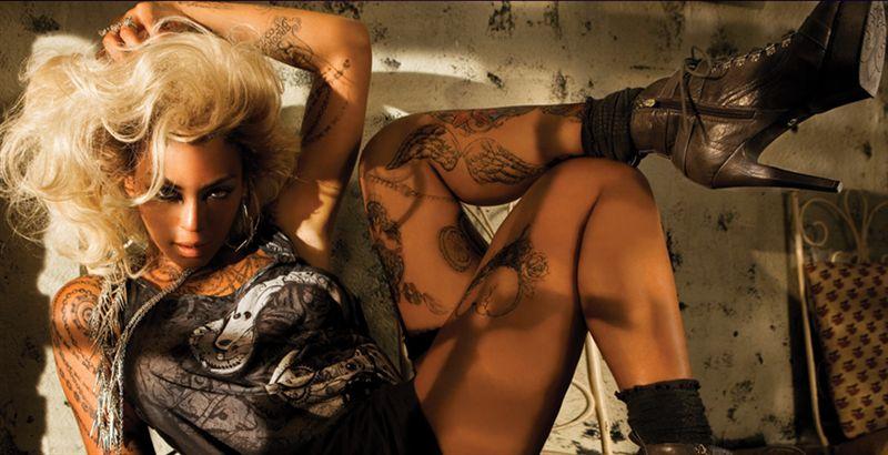 beyon 1 Beyoncé en la nueva colección de moda Deréon