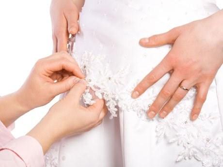 Como modificar un vestido de novia