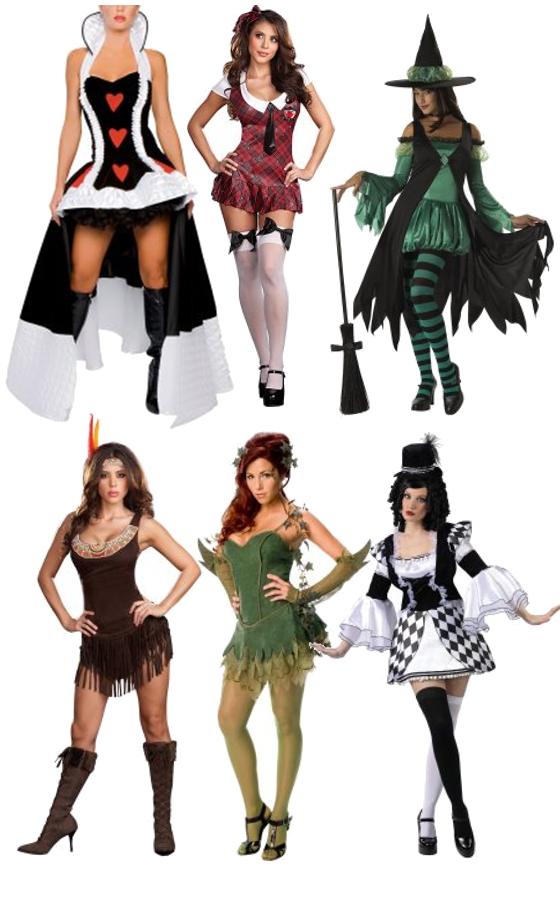 Sexy disfraces de halloween desnudos