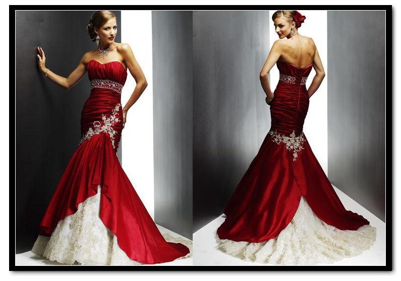 Vestidos De Novia Rojos Estilos De Moda Moda Estilo Y