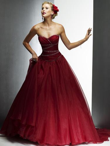 vestidos de fiesta para gorditas. Vestidos de novia rojos