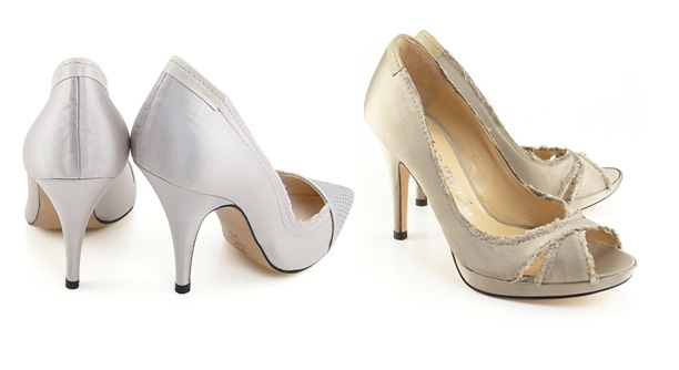 Zapatos Blanco altos con tacón