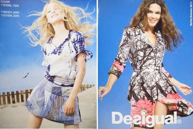Cada temporada Desigual apuesta por ropa diferente y eso es lo que  caracteriza a esta firma de moda. En el catálogo de primavera-verano 2011  encontramos ... 0f75ea139c34