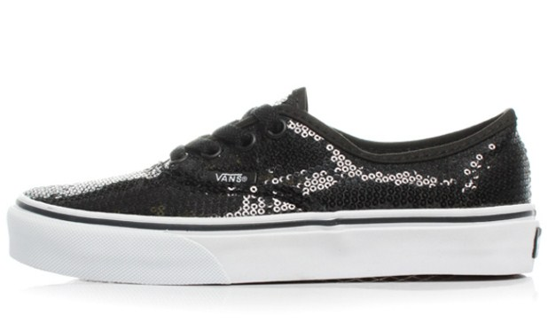Vans Authentic Glitter Dot  zapatillas para brillar3Vans Blue And Black Glitter