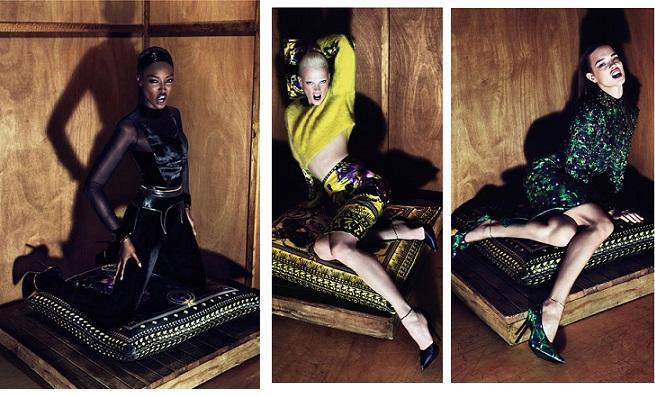 givenchy fall 11 campbell Campaña publicitaria Givenchy otoño 2011