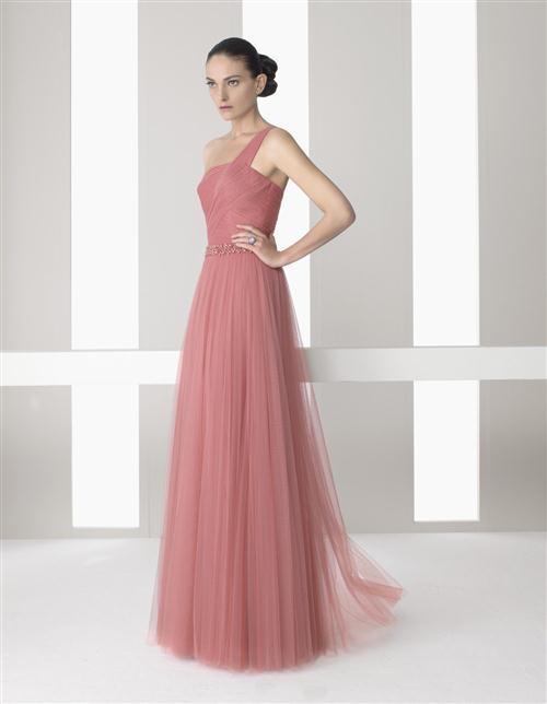Increíble Vestidos De Fiesta En Color Rosa Regalo - Colección del ...