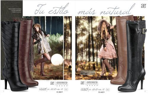 Zapatos Andrea otoño-invierno 2011-2012