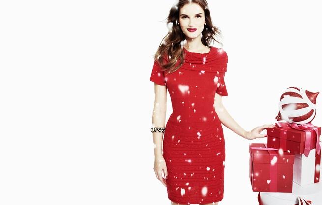 Vestidos rojos para Navidad 2011/2012