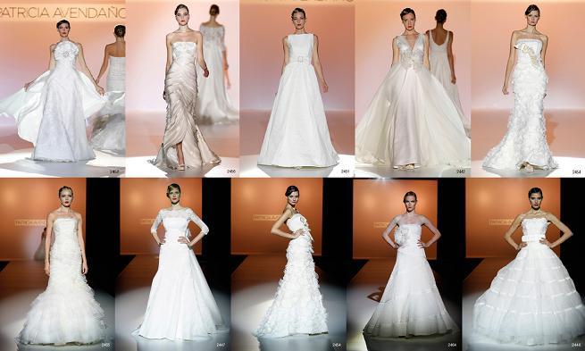 colección vestidos de novia patricia avendaño 2012