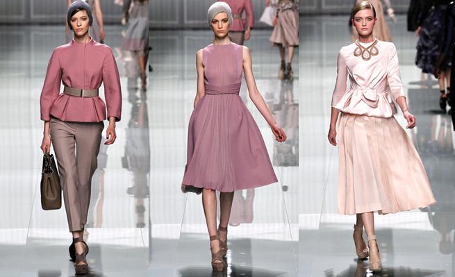colección Dior otoño 2012 2 Colección de Dior otoño invierno 2012