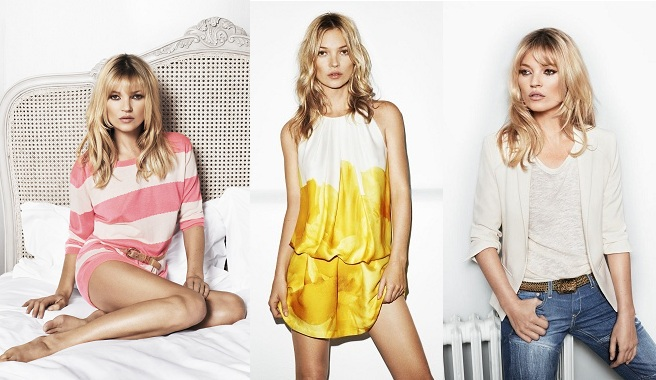 Kate Moss imagen de Mango para el verano 2012 Kate Moss, imagen de MANGO para el verano 2012