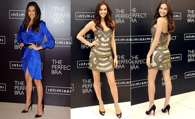 los vestidos de irina shayk en la gira del sujetador perfecto Los vestidos de Irina Shayk en la gira del sujetador perfecto