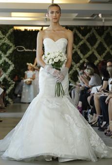 new oscar de la renta wedding dresses spring 2013 030 Las novias azules de Oscar de la Renta