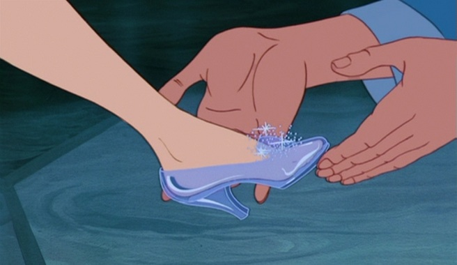 Louboutin Zapatos Cenicienta