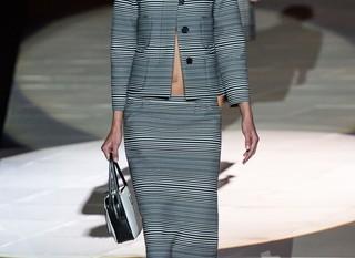 Muchas rayas en el desifile de Marc Jacobs en la Semana de la Moda de Nueva York14