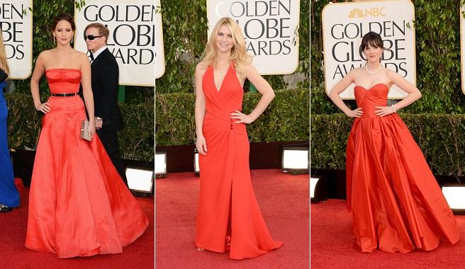 Las mejores vestidas de los Globos de Oro 2013