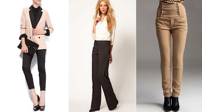 Los pantalones son una prenda impresindible en el armario de una mujer, ya que son muy versátiles, porque van bien tanto de día, de noche, para el trabajo y ocasiones más espeiales, lo importante es elegir el mejor pantalón para cada momento. Pantalones de moda 1. Pantalones bota campana.