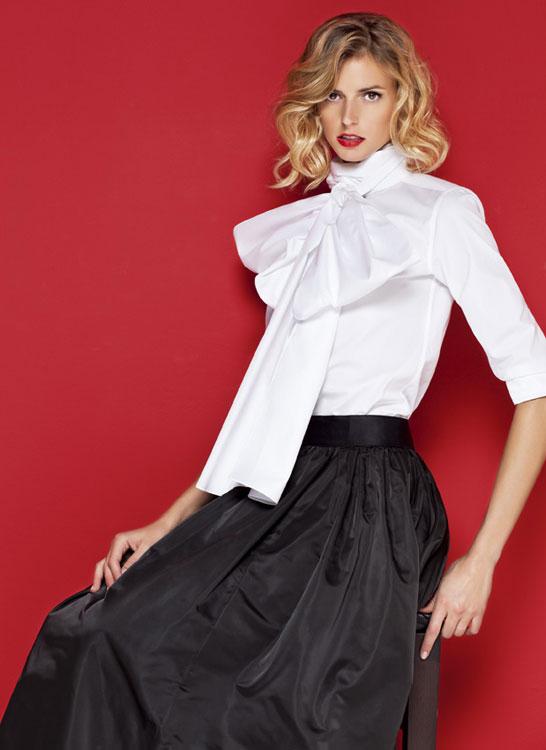 Camisas blancas mujer carolina herrera imagui for Carolina herrera white shirt collection