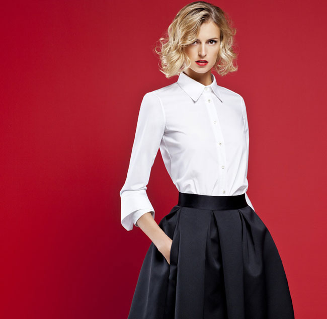 ch carolina herrera white shirt collection un homenaje a