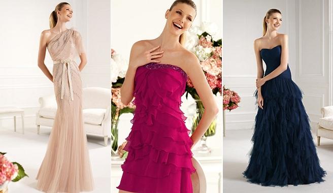 Vestidos de fiesta pronovias 2014