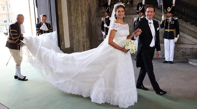 el vestido de novia de magdalena de suecia – estilos de moda – moda