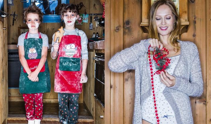 Colecci n de pijamas y ropa interior de benetton de navidad for Ropa interior benetton