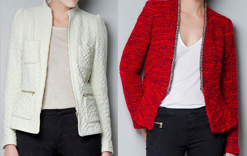 Una chaqueta estilo Chanel, el comodín perfecto