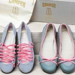 Camper y Pretty Ballerinas se unen para crear dos modelos de bailarinas