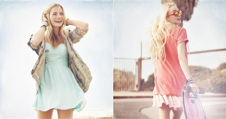 Vestidos de Hollister 2014