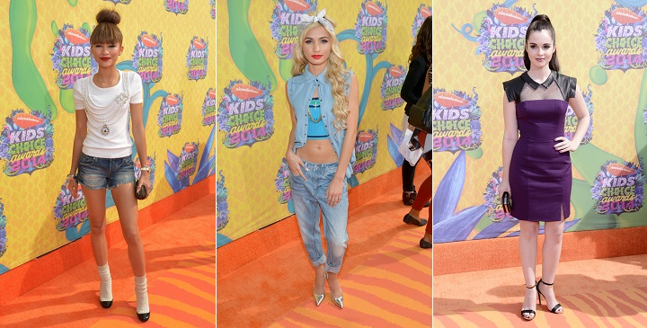 las peor vestidas kids choice awards 20141