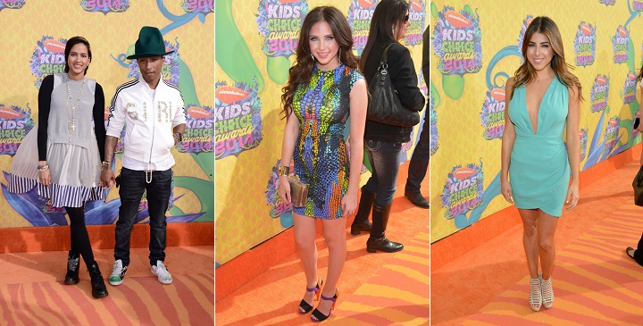 las peor vestidas kids choice awards 20142