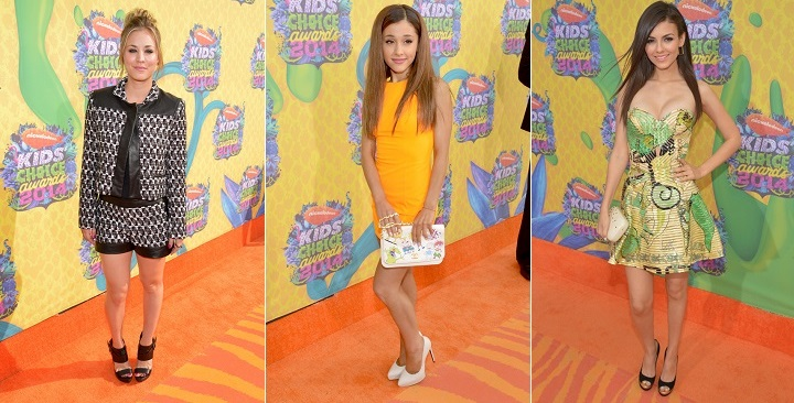 mejor vestidas kids choice awards1