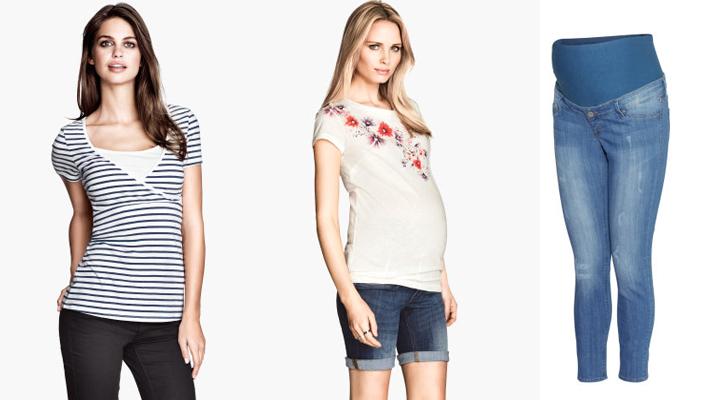 Colección de ropa premamá H&M primavera-verano 2014