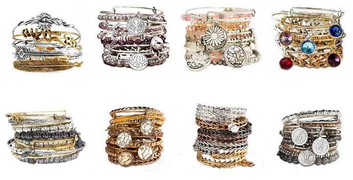 pulseras Alex and Ani1