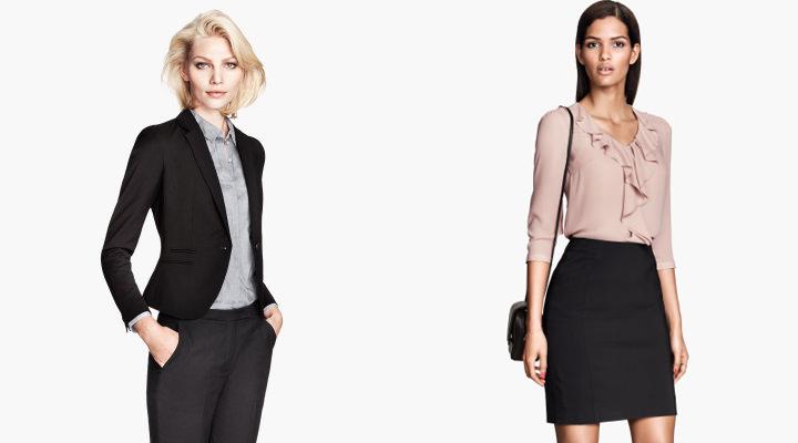 Ropa para la oficina h m verano 2014 estilos de moda for Trajes para oficina