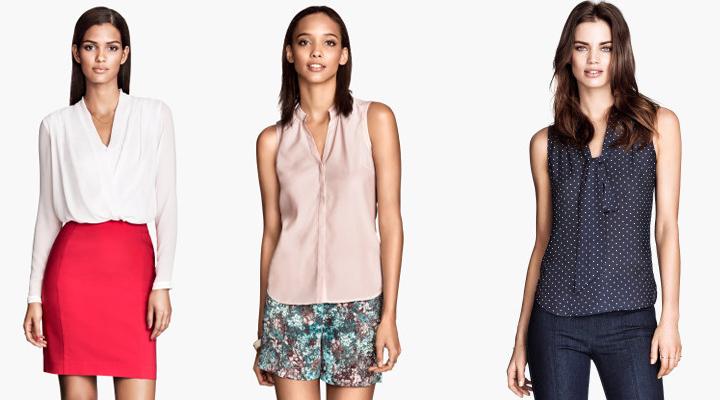 Ropa para la oficina H&M verano 2014