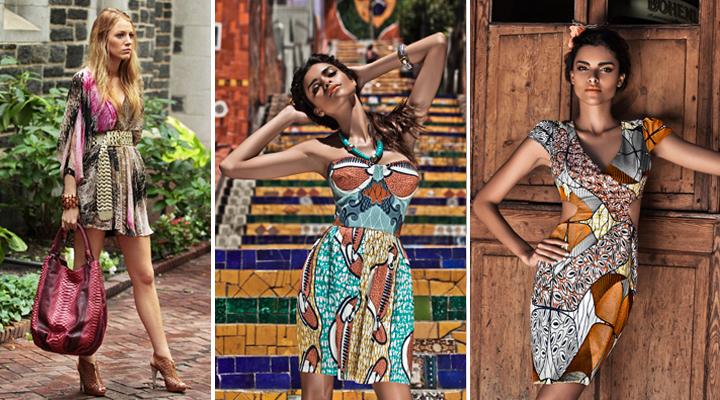 Tipos de estampados étnicos en moda