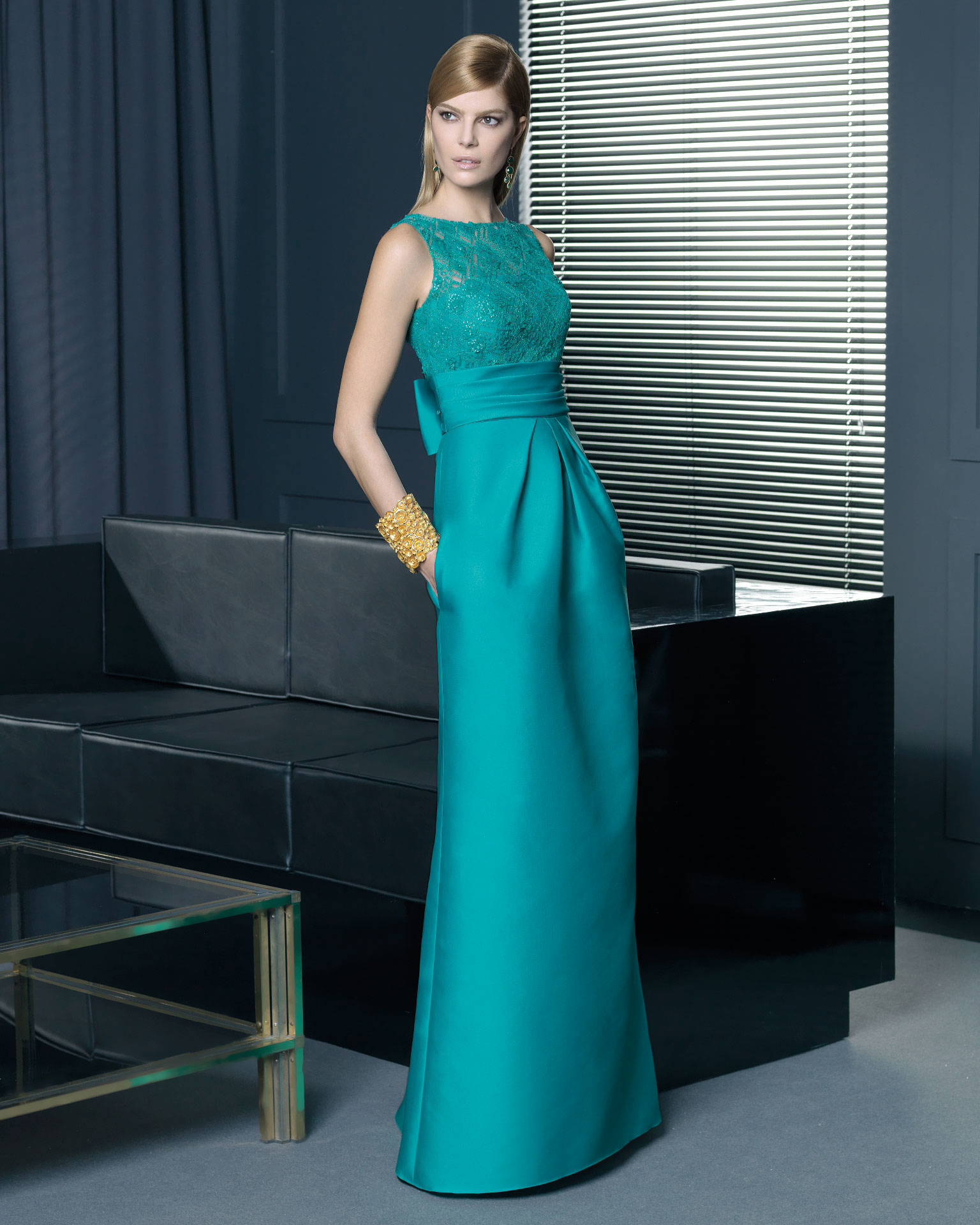 Vestidos largos elegantes 2014