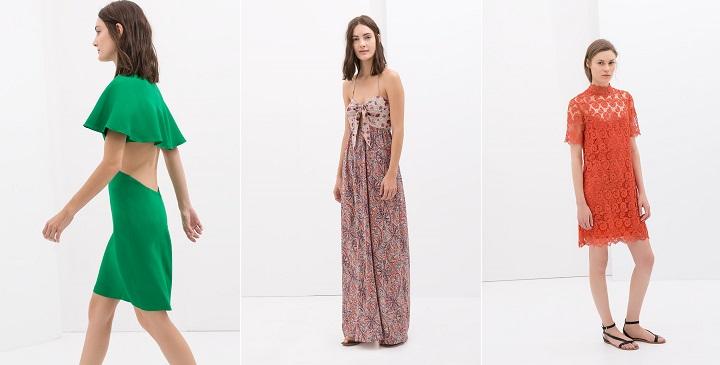 vestidos fiesta Zara 20141