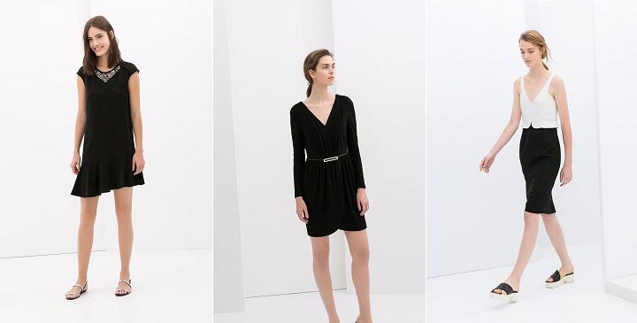vestidos fiesta Zara 20142