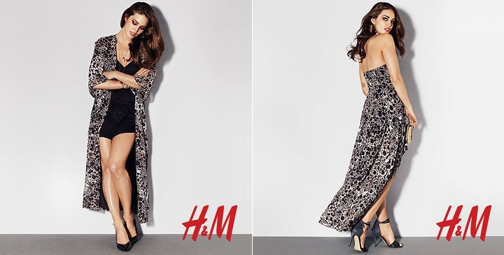 vestidos noche H&M 20142