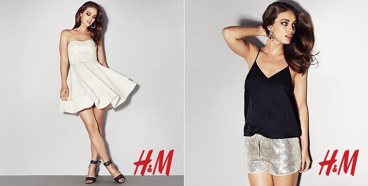vestidos noche H&M 20143