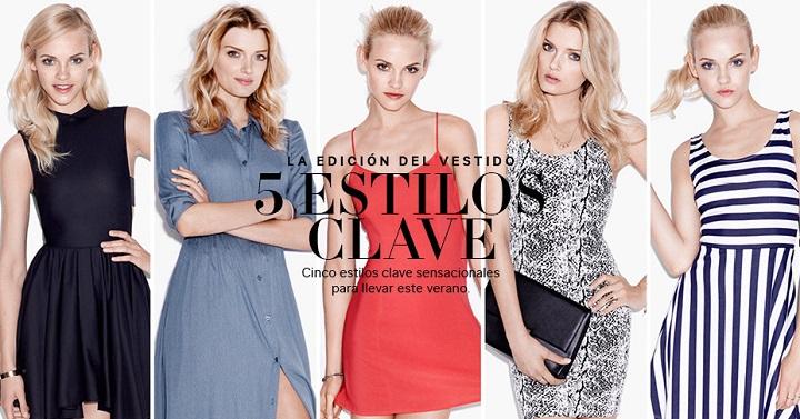 5 estilos vestidos clave H&M