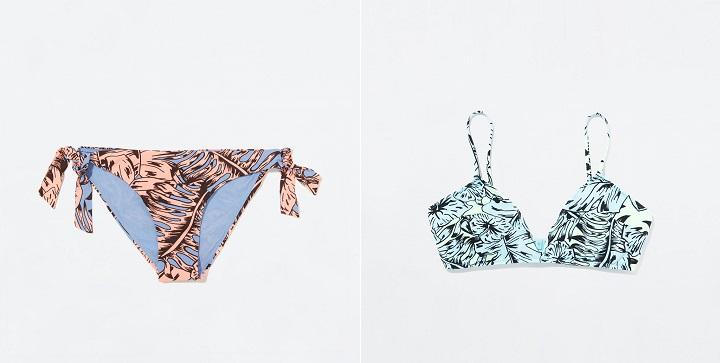 Bikinis Zara verano 20142