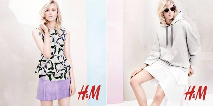 Colores pastel H&M verano 20141